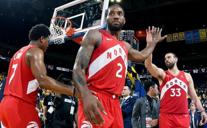 RAPTORS WIN GAME-4 IN OAKLAND 105 – 92 TO TAKE COMMANDING 3-1 LEAD IN NBAFINALS