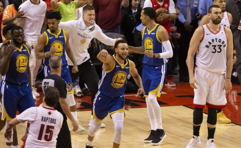 IT AIN'T OVER YET! WARRIORS COME FROM BEHIND TO TAKE GAME-5 106-105