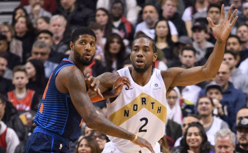 KAWHI LEONARD AND PAUL GEORGE TO SIGN WITH L.A! …………………. CLIPPERS